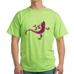 Pink Gecko Green T-Shirt