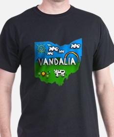 Vandalia, Ohio. Kid Themed T-Shirt
