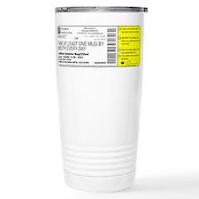 Funny Pharmacist Stainless Steel Travel Mug