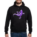 Violet Gecko Hoodie (dark)