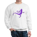 Violet Gecko Sweatshirt