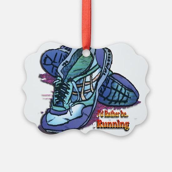 Cute Running Ornament