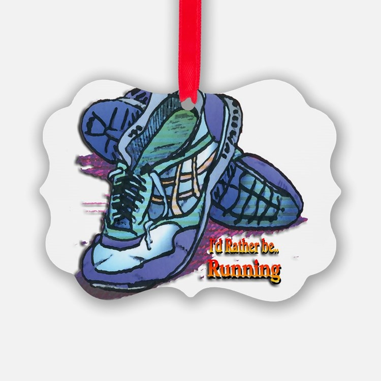 Cute Running shoes Ornament