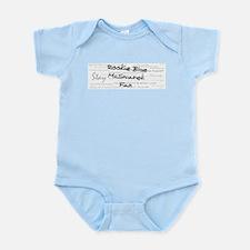 Rookie Blue McSwarek Fan Infant Bodysuit