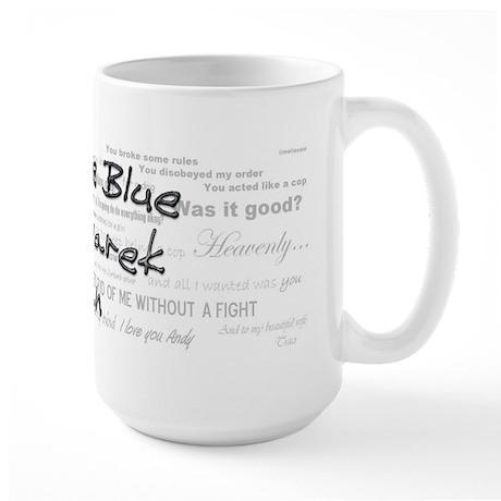 Rookie Blue McSwarek Fan Large Mug