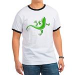 Green Gecko Ringer T