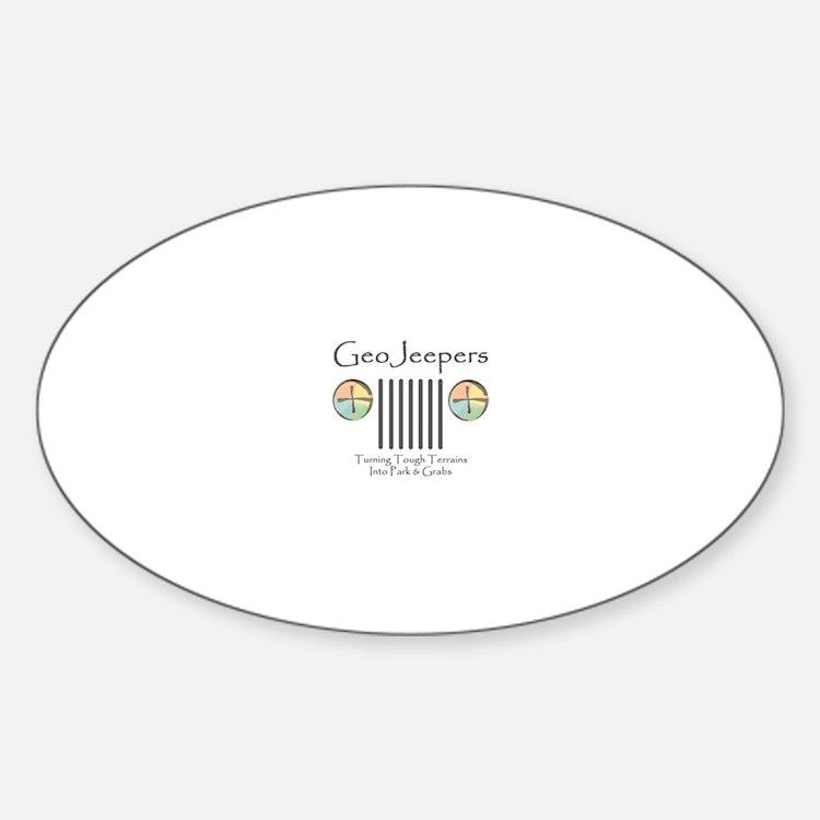 Tough Terrains Sticker (Oval)