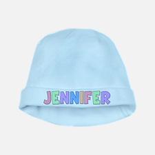 Jennifer Rainbow Pastel baby hat