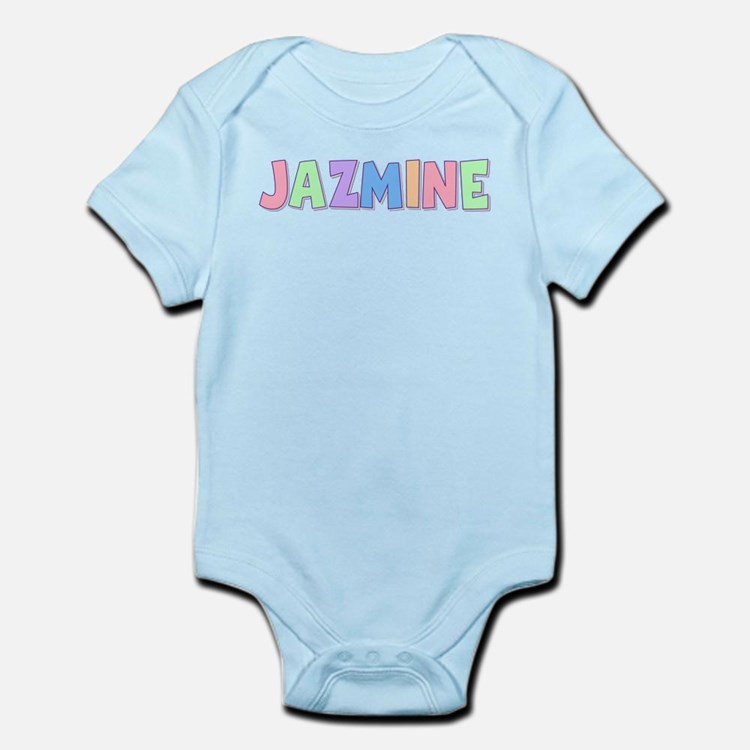Jazmine Rainbow Pastel Infant Bodysuit