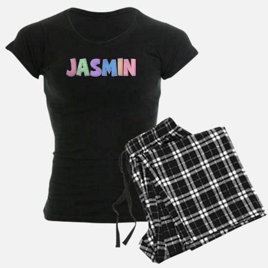 Jasmin Rainbow Pastel Pajamas