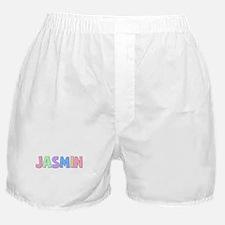 Jasmin Rainbow Pastel Boxer Shorts