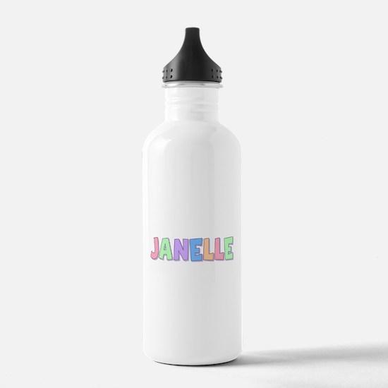 Janelle Rainbow Pastel Water Bottle