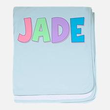 Jade Rainbow Pastel baby blanket