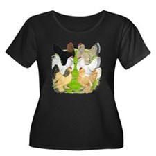 Six DUccle Hens T