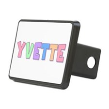 Yvette Rainbow Pastel Hitch Cover