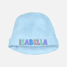 Isabella Rainbow Pastel baby hat