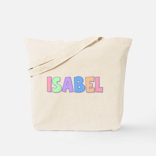 Isabel Rainbow Pastel Tote Bag