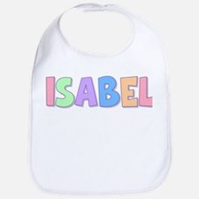 Isabel Rainbow Pastel Bib