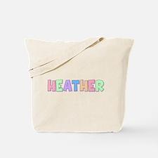 Heather Rainbow Pastel Tote Bag
