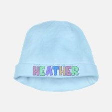 Heather Rainbow Pastel baby hat