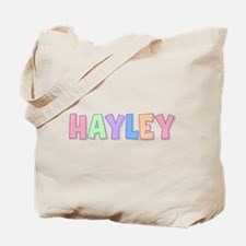 Hayley Rainbow Pastel Tote Bag