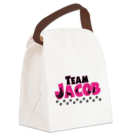 teamjacobwolf.png Canvas Lunch Bag