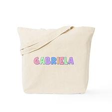 Gabriela Rainbow Pastel Tote Bag