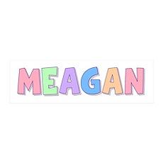 Meagan Rainbow Pastel 36x11 Wall Peel