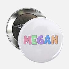 Megan Rainbow Pastel Button