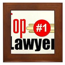 Top Lawyer Framed Tile