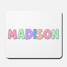 Madison Rainbow Pastel Mousepad