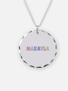 Makayla Rainbow Pastel Necklace