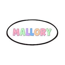 Mallory Rainbow Pastel Patch
