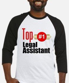 Top Legal Assistant Baseball Jersey