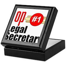 Top Legal Secretary Keepsake Box