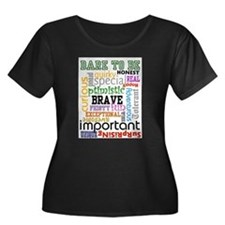 """""""Dare to Be"""" Plus Size T-Shirt"""