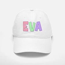Eva Rainbow Pastel Baseball Baseball Cap