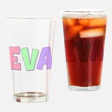 Eva Rainbow Pastel Drinking Glass