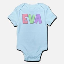 Eva Rainbow Pastel Infant Bodysuit
