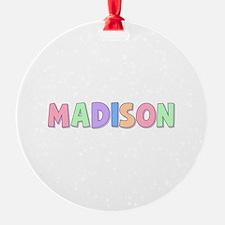 Madison Rainbow Pastel Ornament