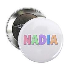 Nadia Rainbow Pastel Button