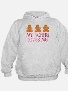 Gingerbread Nonna Love Hoodie