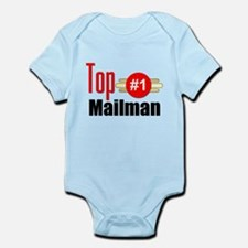 Top Mailman Infant Bodysuit