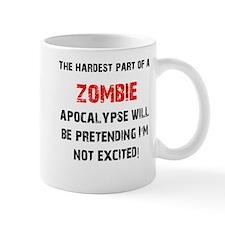Zombies? Excited! Mug