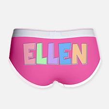 Ellen Rainbow Pastel Women's Boy Brief
