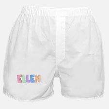 Ellen Rainbow Pastel Boxer Shorts