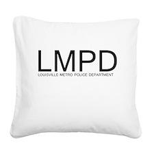LMPD Square Canvas Pillow