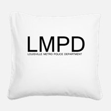 LMPD Square Canvas Pillow