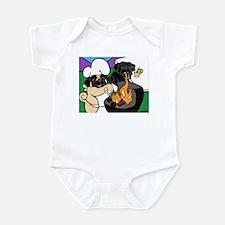 Pug BBQ Infant Bodysuit