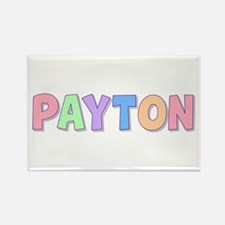 Payton Rainbow Pastel Rectangle Magnet